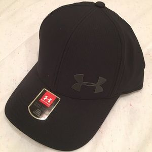 Men's Under Armour Vent Core 2.0 Fitted Hat Black